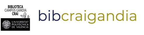 Blog Biblioteca Campus Gandia CRAI Logo