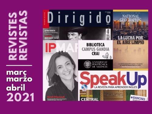 Revistes març/abril 2021
