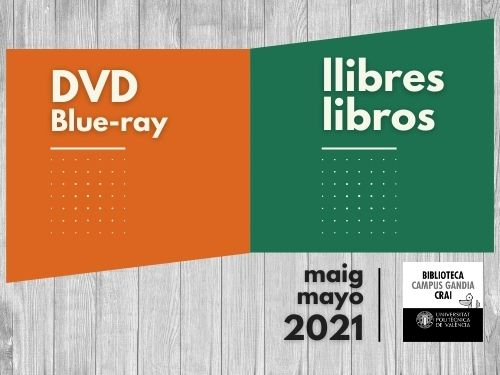 Monografies i vídeos maig 2021