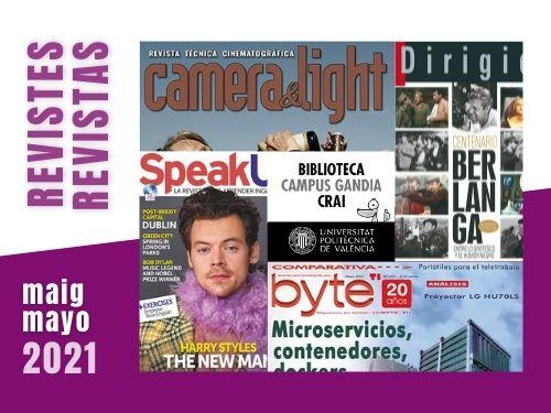 Revistas mayo 2021