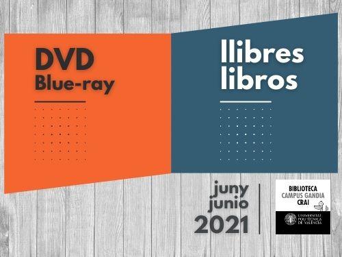 Monografies i vídeos juny 2021