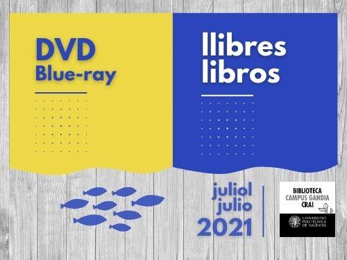 Monografies i vídeos juliol 2021